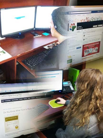 CatPrint Walkthrough Social Media